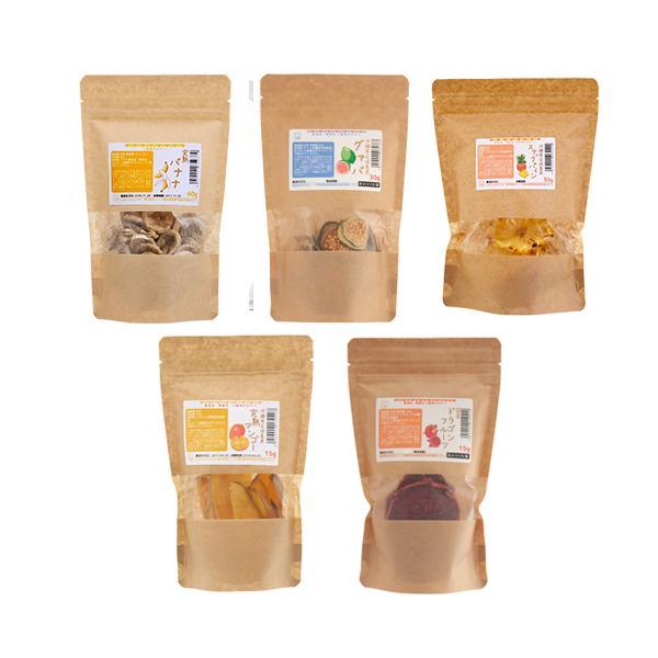 モモンガさん達の南国フルーツセット 人気フルーツ5種アソート 国産おやつ