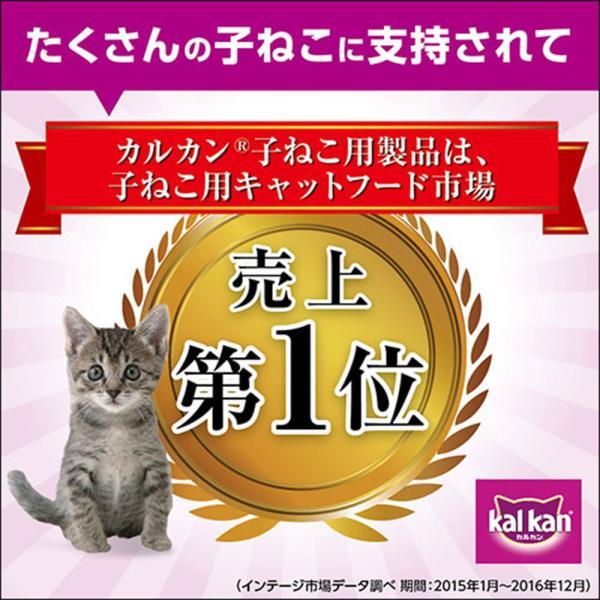 カルカン パウチ 12ヵ月までの子ねこ用 お魚ミックス まぐろ・かつお・たい入り 70g 16袋入り 関東当日便 chanet 04