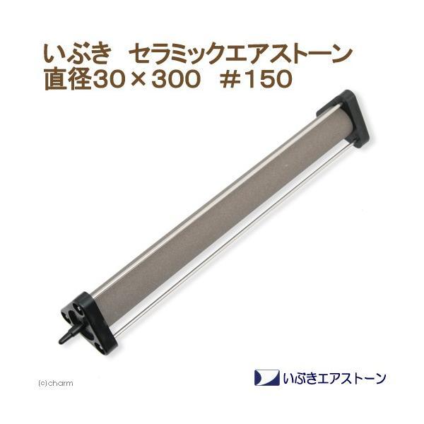 いぶきエアストーン セラミックエアストーン 直径30×300 #150 エアーストーン
