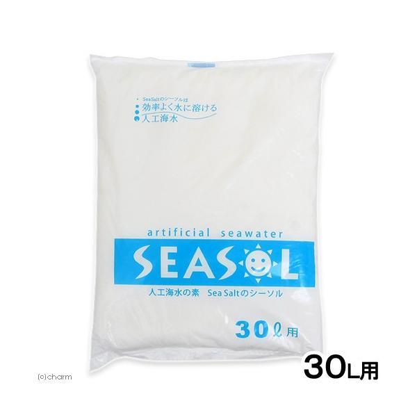 人工海水の素 SEA SALT シーソル 30L用 関東当日便|chanet