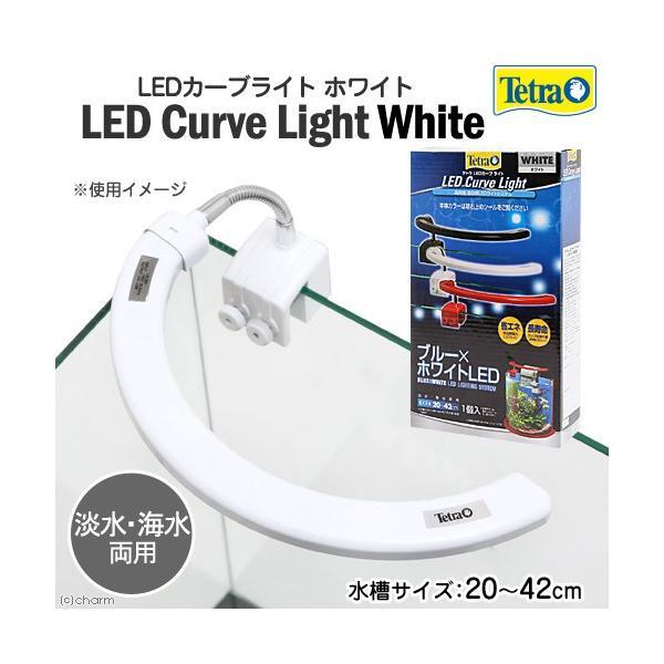 テトラ LEDカーブライト ホワイト LED−CLW アクアリウムライト 関東当日便|chanet