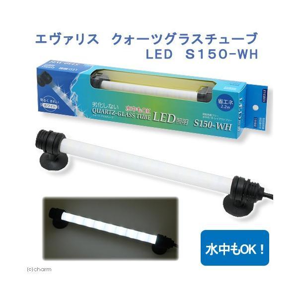 エヴァリス クォーツグラスチューブ LED S150 アクアリウムライト 関東当日便|chanet