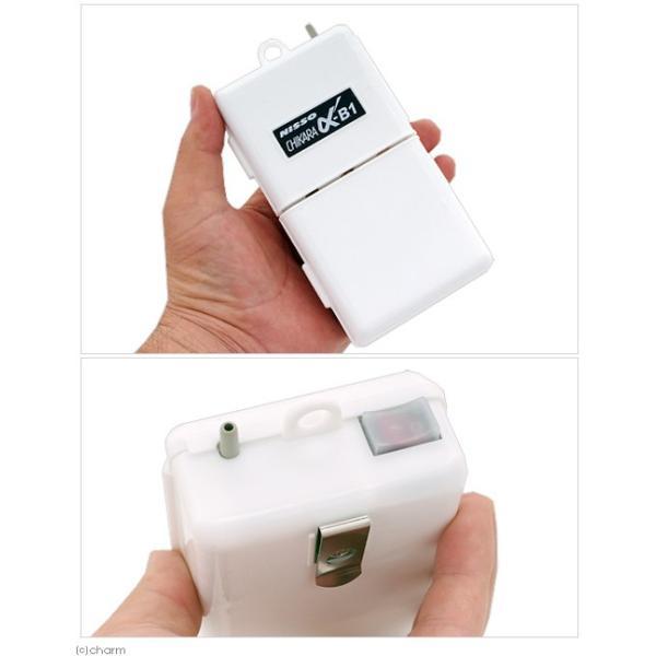 ニッソー 乾電池式エアーポンプ α−B1 関東当日便|chanet|02