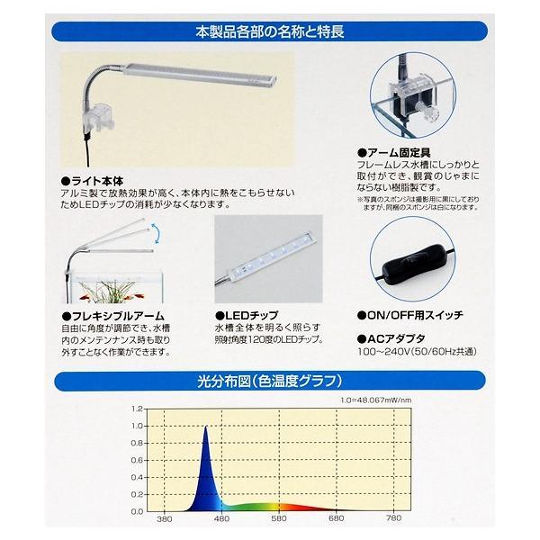 水作 スマート LEDライト A220 BL アクアリウムライト 関東当日便 chanet 04