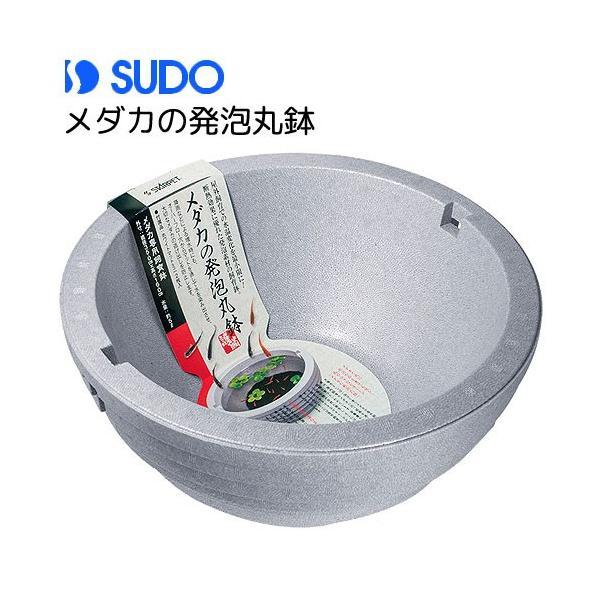 スドーメダカの発泡丸鉢