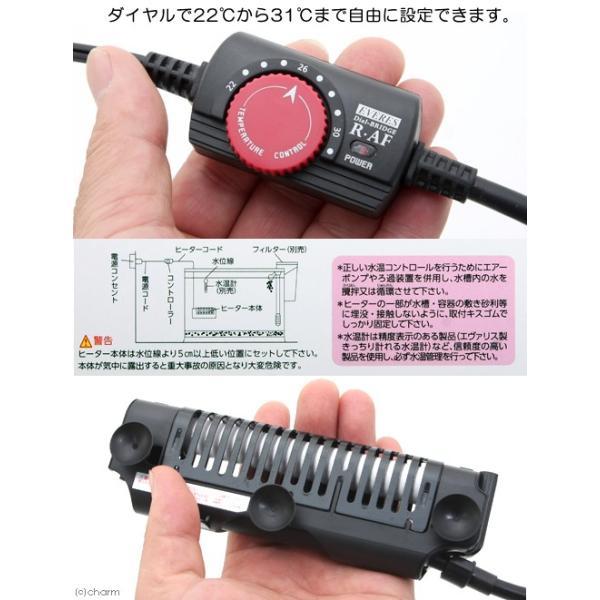 エヴァリス オートヒーター ダイヤルブリッジ R100AF 熱帯魚 ヒーター 関東当日便 chanet 02
