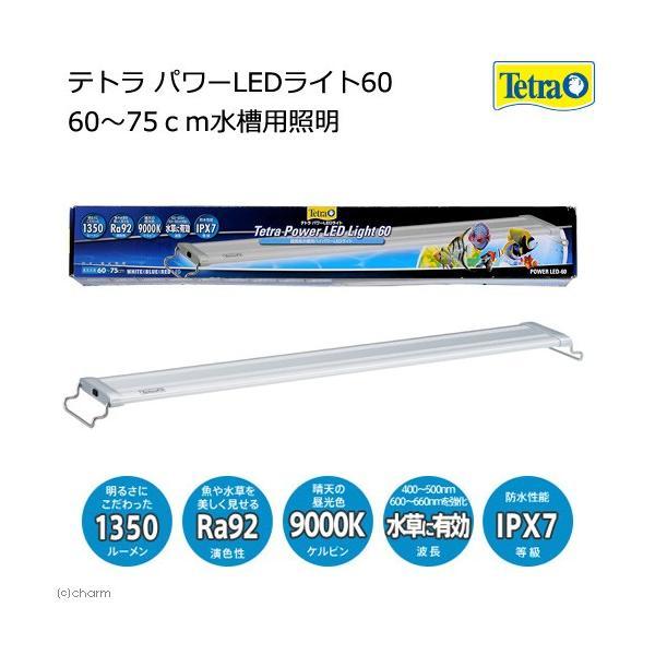テトラ パワーLEDライト 60 60〜75cm水槽用照明 熱帯魚 水草 アクアリウムライト
