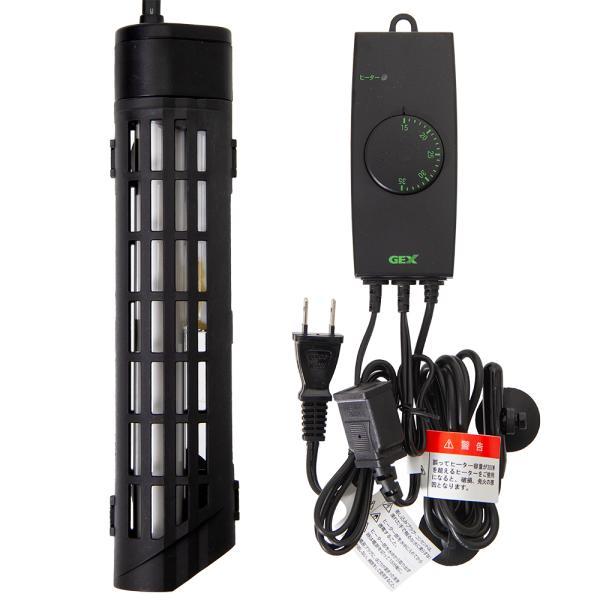 GEX セーフカバー SH300 サーモスタット NX003N セット ヒーター 熱帯魚 関東当日便|chanet