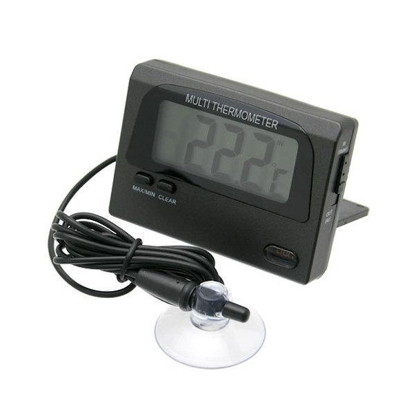 最高最低温度が記録できる デジタル温度計兼水温計 パッケージ無し バックライト付 関東当日便|chanet
