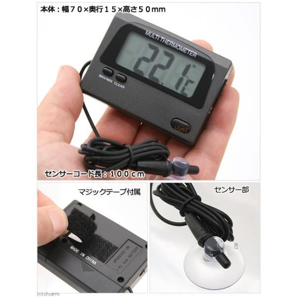 最高最低温度が記録できる デジタル温度計兼水温計 パッケージ無し バックライト付 関東当日便|chanet|03