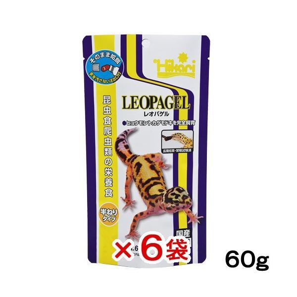 キョーリン レオパゲル 60g 6袋入り 関東当日便|chanet