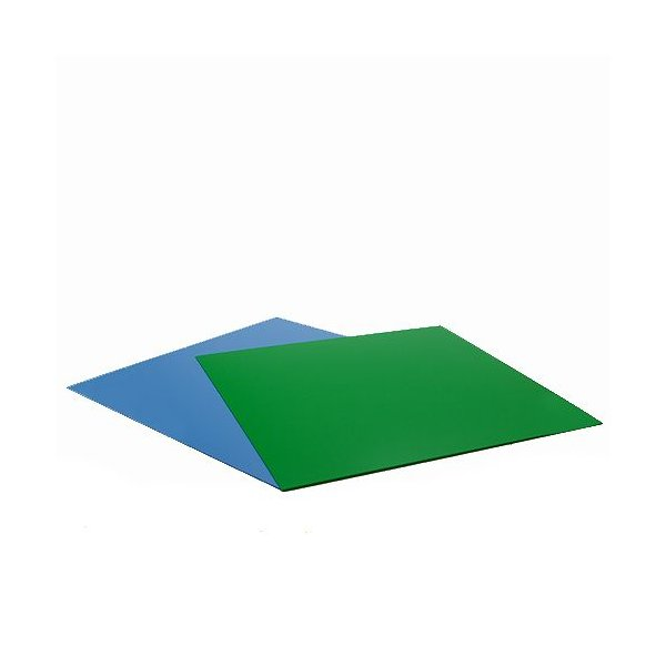 RG−30水槽用 丈夫な塩ビ製バックスクリーン 28.3×27.5cm 若草色 ライトグリーン
