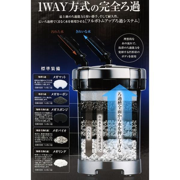 GEX メガパワー 6090 水槽用外部フィルター ジェックス 関東当日便|chanet|02