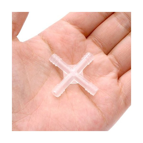 X字管 プラスチック製 品番6−667−02 ×1個 関東当日便|chanet|02