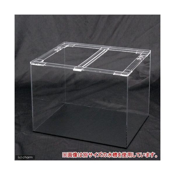 □メーカー直送 アクリルクリアタンク 底面板黒(120×45×45cm) 同梱不可・別途送料