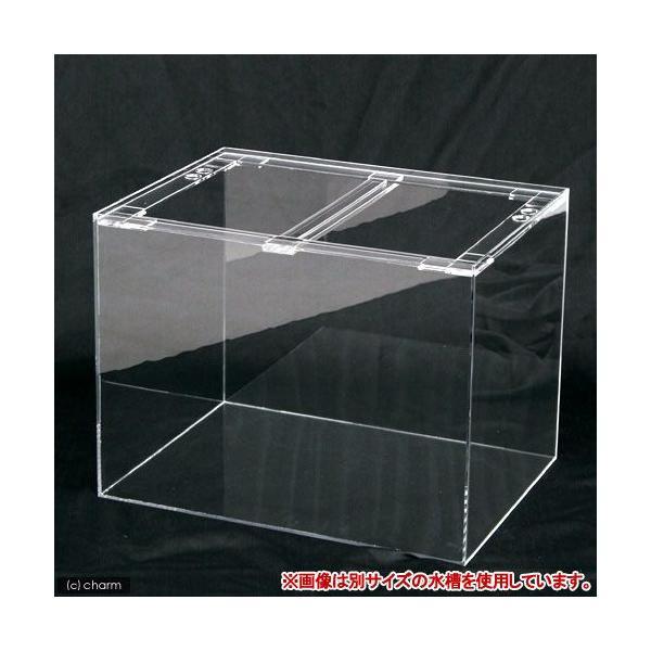 □メーカー直送 (受注生産)アクリル水槽 アクリルクリアタンク(75×45×60cm 板厚10×10×8mm) 同梱不可 別途送料