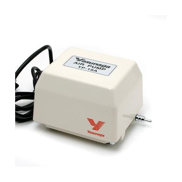 安永電磁式エアーポンプ(ブロワー) YP−15A 120cm以上水槽用エアーポンプ 沖縄別途送料