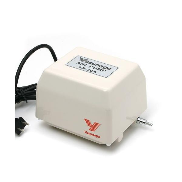 安永電磁式エアーポンプ(ブロワー) YP−20A 120cm以上水槽用エアーポンプ 沖縄別途送料