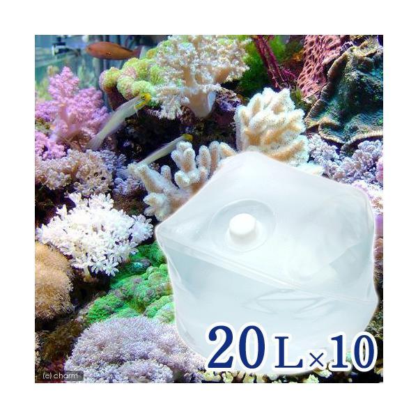 (海水魚)足し水くん テナーボトル 天然海水(海洋深層水) 200リットル 10個口送料無料 航空便不可・沖縄不可|chanet