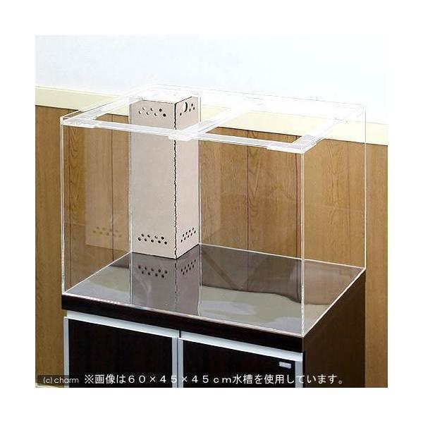 □メーカー直送 (受注生産)アクリル水槽 OFコーナー付(サイズ:150×60×60cm) 同梱不可 別途送料