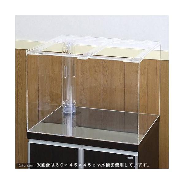 □メーカー直送 (受注生産)アクリル水槽 OF三重管付(サイズ:150×45×60cm) 同梱不可 別途送料