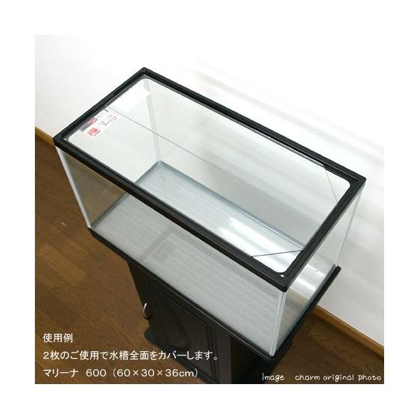 GEX ガラスフタ 60−B 1枚(幅56.7×縦13.3×厚さ0.3cm) 関東当日便|chanet|02