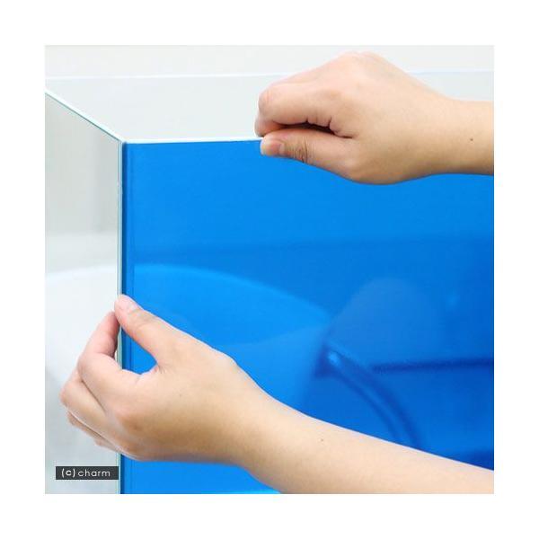 バックスクリーン ARTI(アルティ)60 クリアブルー(65×50cm)