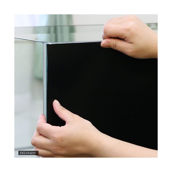 バックスクリーン ARTI(アルティ)90 ジェットブラック(95×50cm) 関東当日便|chanet