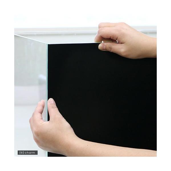 バックスクリーン ARTI(アルティ)30 ジェットブラック(35×50cm)