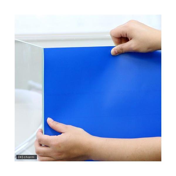 バックスクリーン ARTI(アルティ)30 アクアブルー(35×50cm)