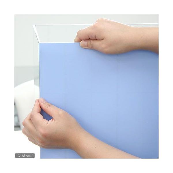 バックスクリーン ARTI(アルティ)30 ベビーブルー(35×50cm)