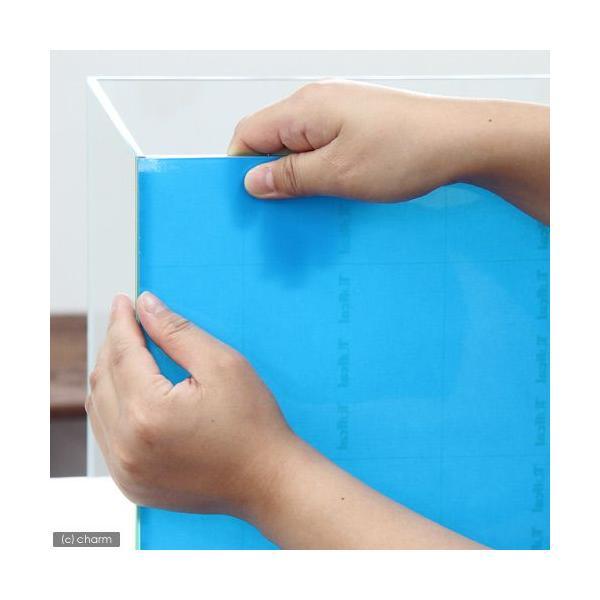 バックスクリーン ARTI(アルティ)45 スカイブルー(クリアタイプ)(50×50cm)