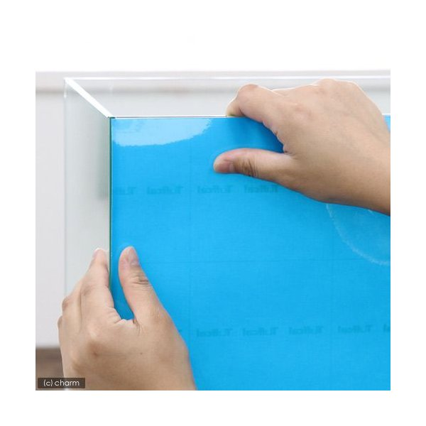 バックスクリーン ARTI(アルティ)60 スカイブルー(クリアタイプ)(65×50cm)