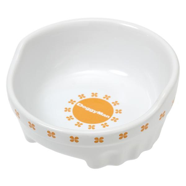 ドギーマン すべり止め付 便利なクローバー陶製食器 M 関東当日便 chanet