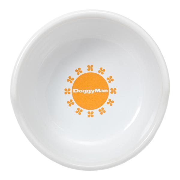 ドギーマン すべり止め付 便利なクローバー陶製食器 M 関東当日便 chanet 02