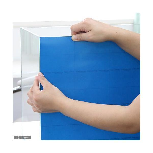 バックスクリーン ARTI(アルティ)30 オーシャンブルー(35×50cm)
