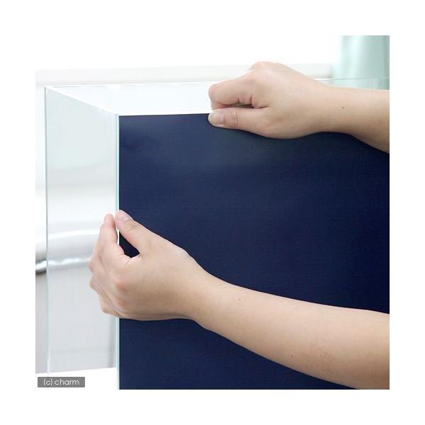 バックスクリーン ARTI(アルティ)120 インディゴ(125×50cm)