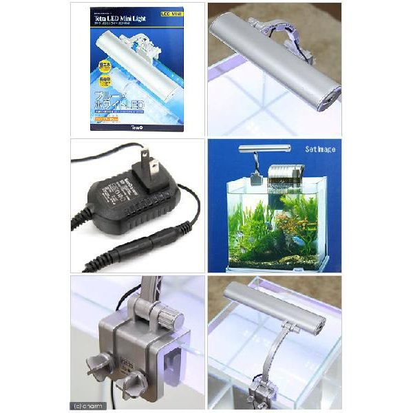 テトラ LEDミニライト LED−MINI 小型水槽用照明 熱帯魚 水草 アクアリウムライト 関東当日便|chanet|03