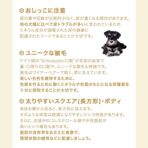 ロイヤルカナン ミニチュアシュナウザー 成犬・高齢犬用 3kg ジップ付 関東当日便|chanet|03