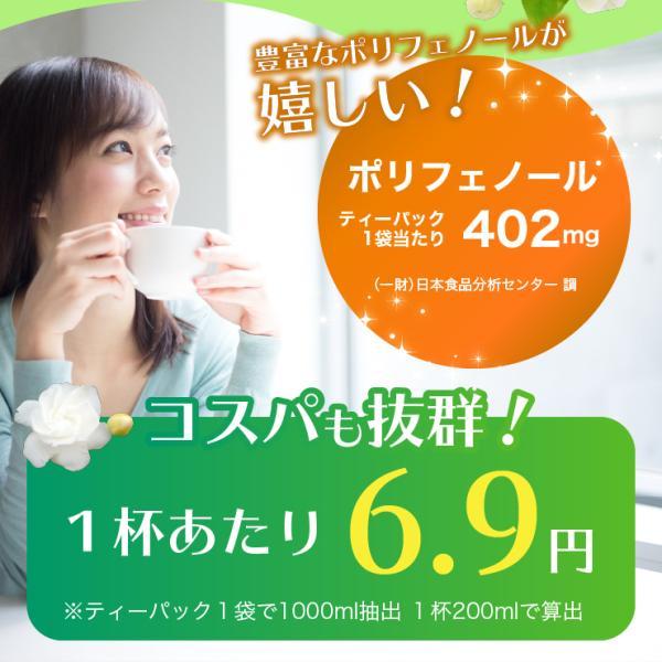 ジャスミン茶 40包 香り高い茶葉厳選!500ml PETボトルで80本分! 冷やしても温めても美味しく飲める!|chanoya|03