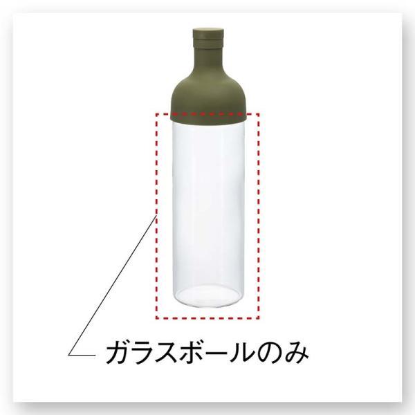 フィルターインボトル・スペアボール(ガラス部分のみ)|chao-chao