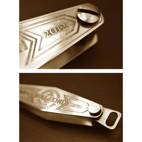 INCEPTION(インセプション) ブラスキーホルダーケース IPKC-02 ブラス無垢 ブラス 真鍮 OPUS(オーパス)|chaos-accessory|03