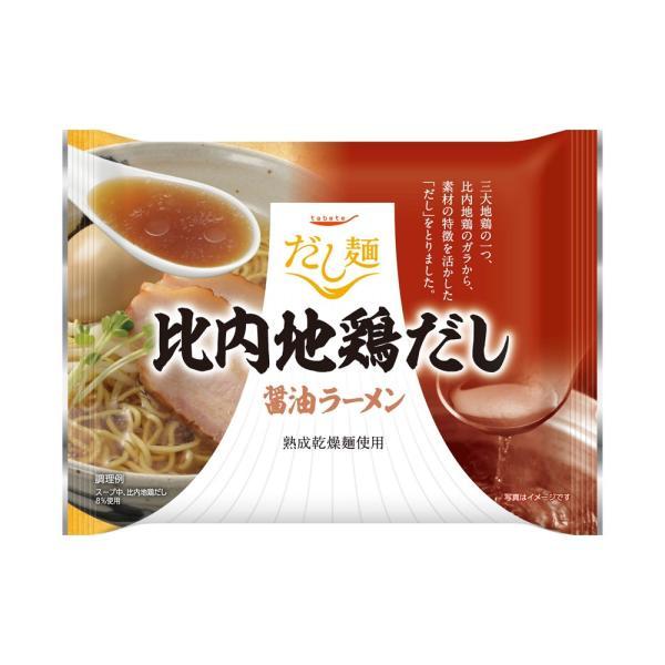 食品 tabete だし麺 比内地鶏だし醤油ラーメン 101g×10 (お取り寄せ商品)
