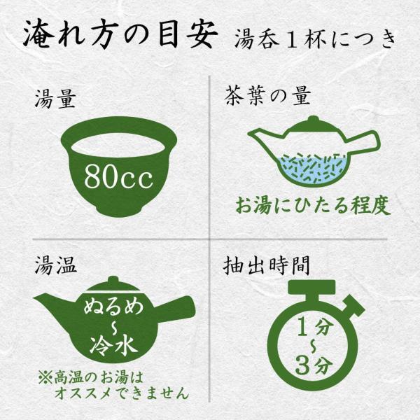 浅蒸し煎茶 品等:喜 茶葉100g 旨み広がる  若蒸し茶|chappaya-hamamatsu|02