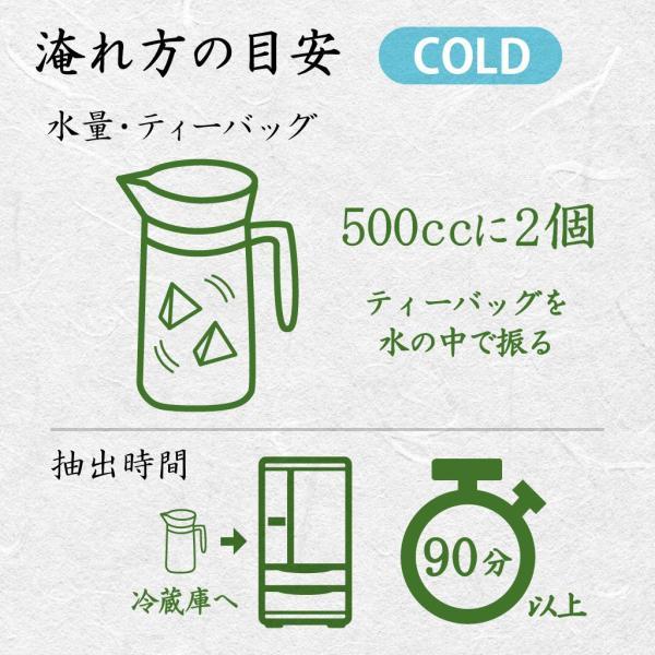 超深蒸し煎茶 品等:楽 ティーバッグ100g(5g×20コ) 水出しOK さわやか|chappaya-hamamatsu|04