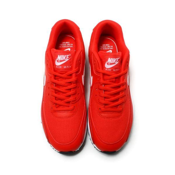 012cc14b56a ... ナイキ NIKE スニーカー ウィメンズ エア マックス 90 (SPEED RED WHITE-BLACK) 18SP ...