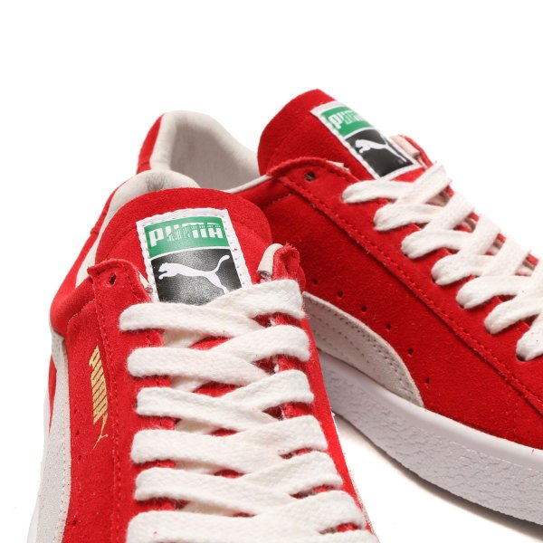 PUMA SUEDE 90681 (RIBBON RED) 18SP-I  365942-02 CHAPTER EXPRESS ... 9fc08a035