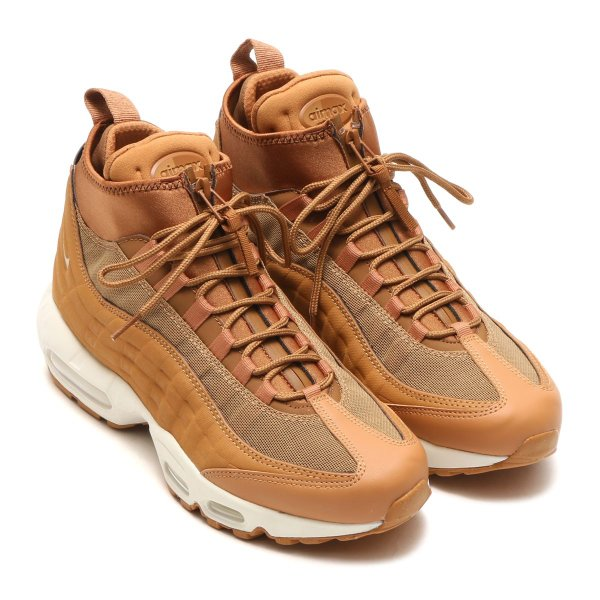 the best attitude 0493f 804f9 NIKE AIR MAX 95 SNEAKERBOOT (FLAX/FLAX-ALE BROWN-SAIL) 17HO-S