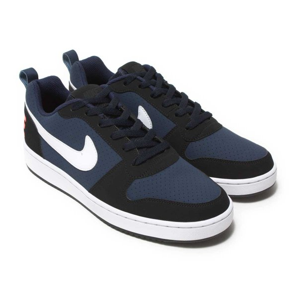 ナイキ NIKE スニーカー コート バーロウ ロー SL (OBSIDIAN/WHITE-BLACK-SOLAR RED) 17HO-I|chapter-ex|01