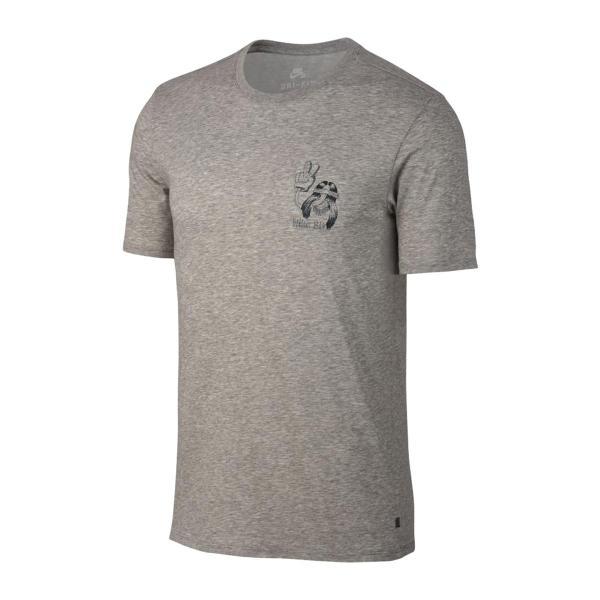 ナイキ NIKE Tシャツ SB ドライフィット BBALL デュード Tシャツ (DK GREY HEATHER/BLACK) 17HO-I|chapter-ex